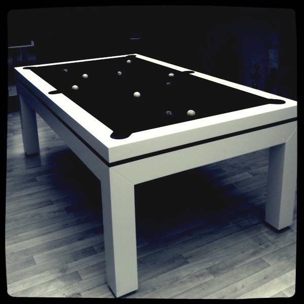 billard line concept. Black Bedroom Furniture Sets. Home Design Ideas